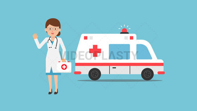 Ambulance Doctor ANIMATION