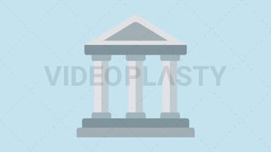 Bank Icon ANIMATION