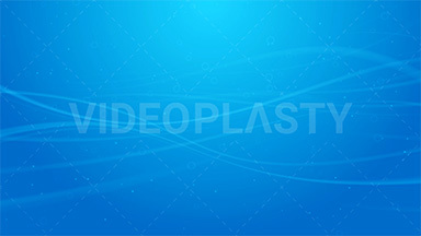 Blue Wave Lines Background Loop ANIMATION