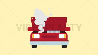 Broken Car Icon ANIMATION