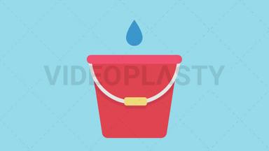 Bucket Icon ANIMATION