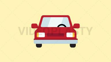 Car Icon ANIMATION