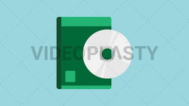 CD Box Icon ANIMATION