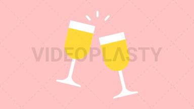 Champagne Toast ANIMATION