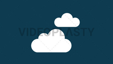 Cloudy Icon ANIMATION