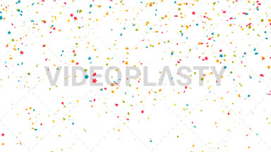 Confetti Drop Background Loop ANIMATION