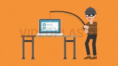 Criminal Phishing ANIMATION