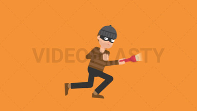 Criminal Sneaking ANIMATION