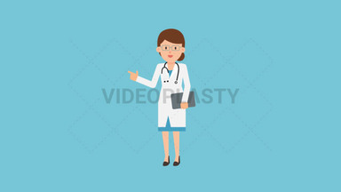 Doctor Pointing ANIMATION