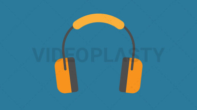 Ear Protection Icon ANIMATION