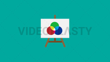 Easel with Canvas ANIMATION