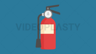 Fire Extinguisher Icon ANIMATION
