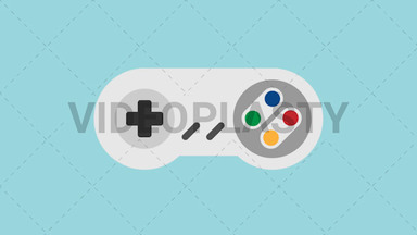 Game Controller Icon ANIMATION