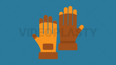Gloves Icon ANIMATION