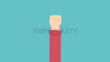 Hand Gesture: Closed Fist ANIMATION