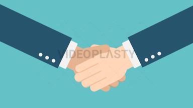 Hand Gesture: Hand Shake ANIMATION