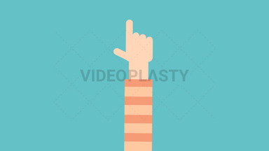 Hand Gesture: Pointing ANIMATION