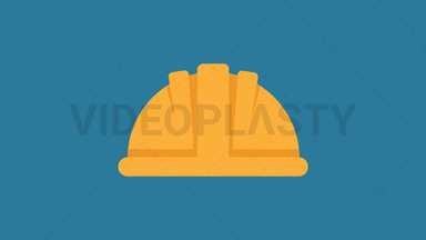 Hard Hat Icon ANIMATION
