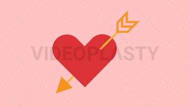 Heart and Arrow ANIMATION