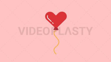 Heart Baloon ANIMATION