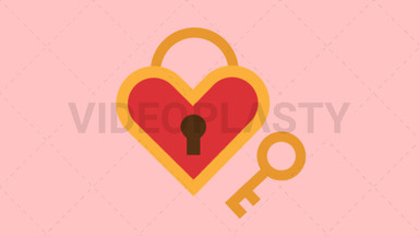 Heart Padlock ANIMATION