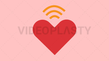 Heart Wifi ANIMATION