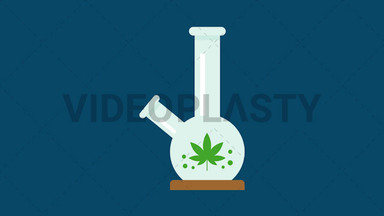 Marijuana Bong ANIMATION