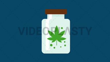 Marijuana Container ANIMATION