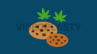 Marijuana Cookies ANIMATION