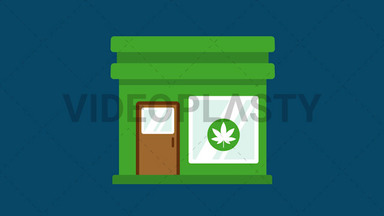 Marijuana Dispensary ANIMATION