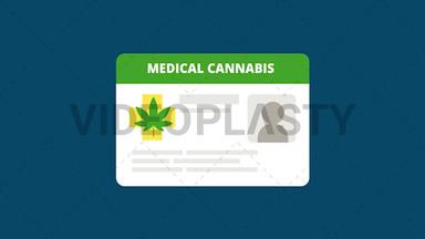 Marijuana ID Card ANIMATION