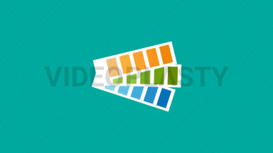Pantone Flat Icon ANIMATION