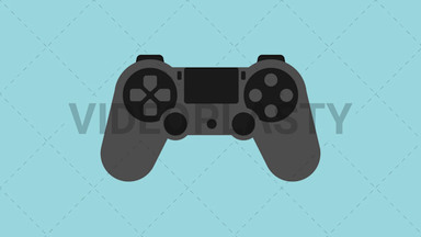 PS Controller Icon ANIMATION