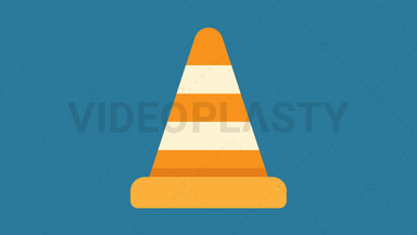 Safety Cone Icon ANIMATION