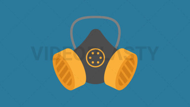 Safety Mask Icon ANIMATION