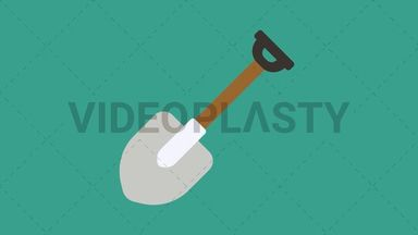 Shovel Icon ANIMATION