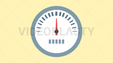 Speedometer Icon ANIMATION