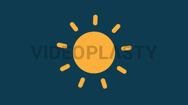 Sunny Icon ANIMATION