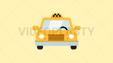 Taxi Icon ANIMATION
