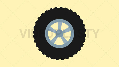 Tire Icon ANIMATION