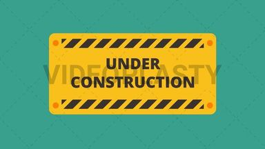 Under Construction Icon ANIMATION