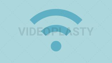 Wifi Wireless Icon ANIMATION
