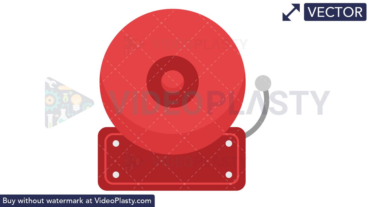 Alarm Icon Vector Clipart