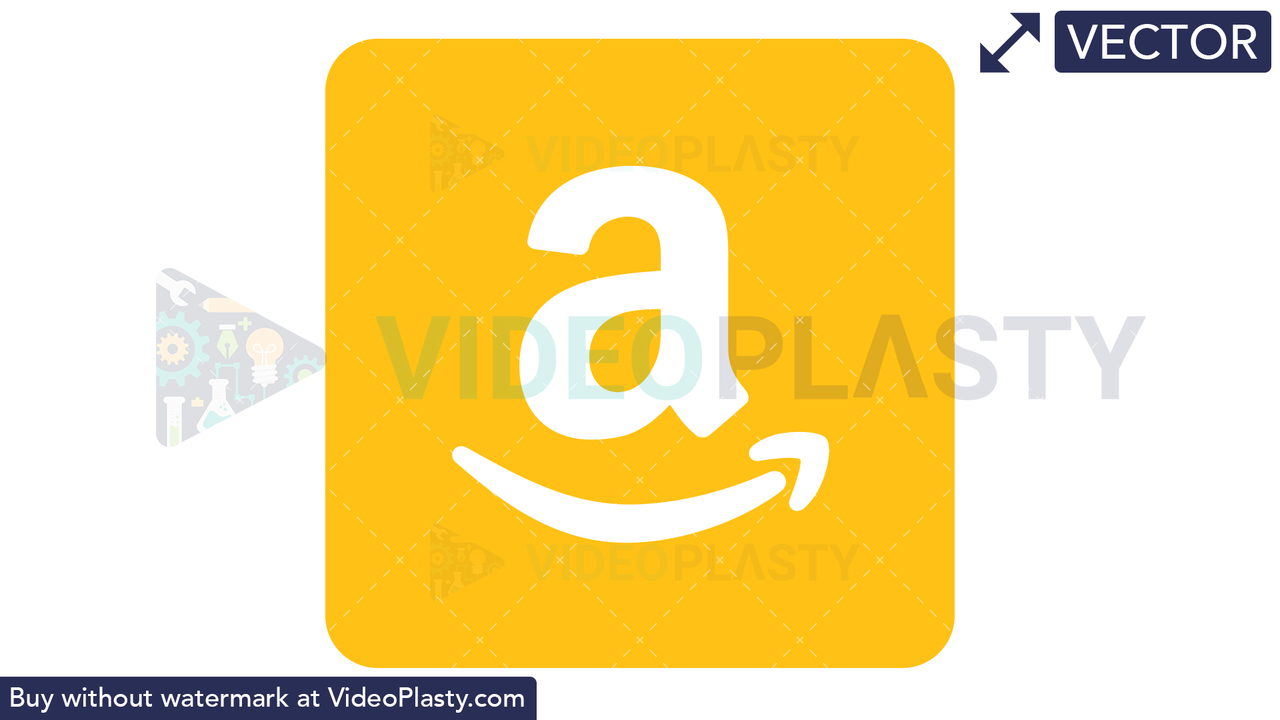 Amazon Icon Vector Clipart