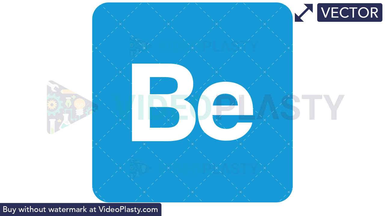 Behance Icon Vector Clipart