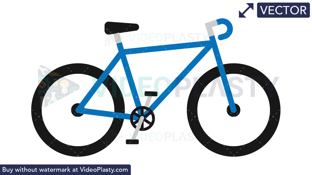 Bike Icon Vector Clipart