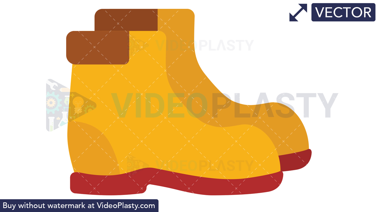 Boots Icon Vector Clipart