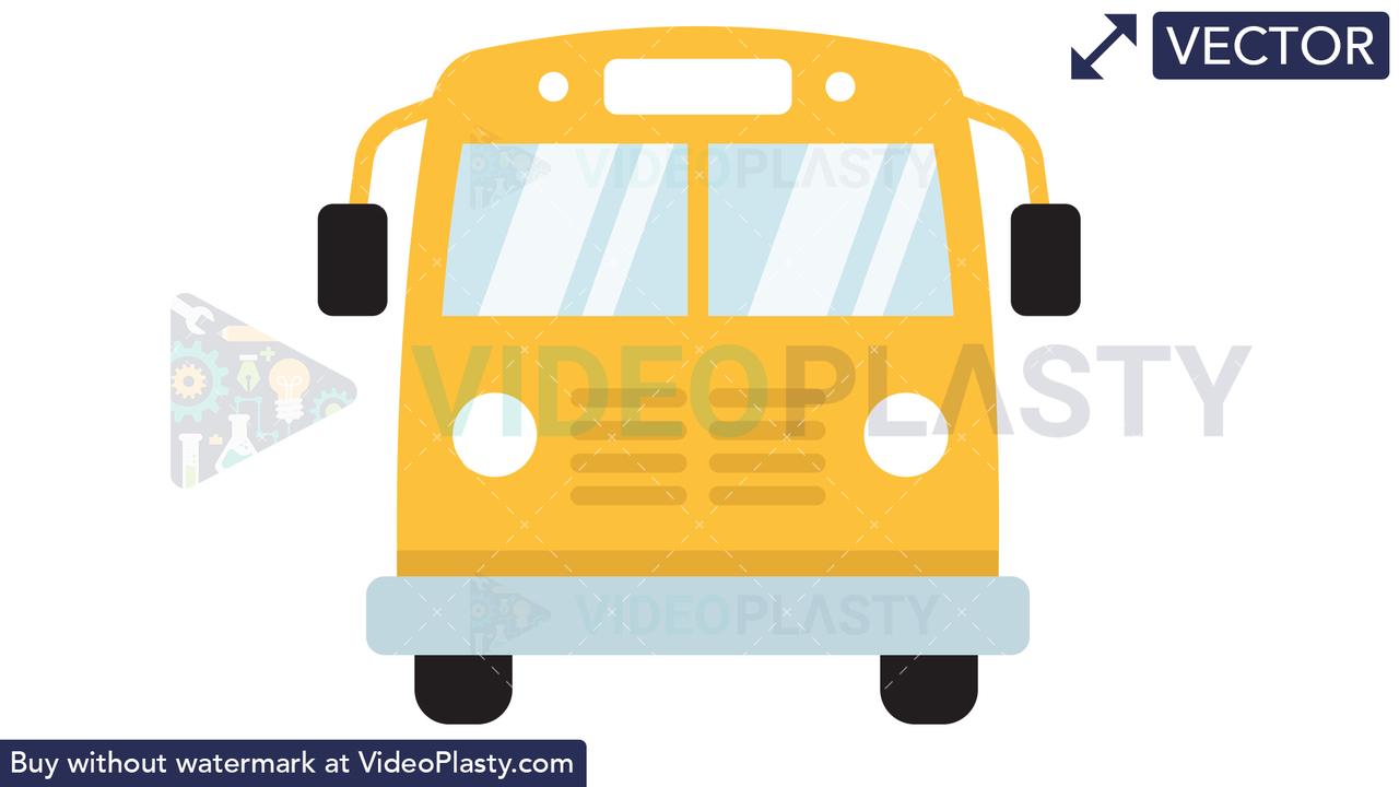 Bus Icon Vector Clipart