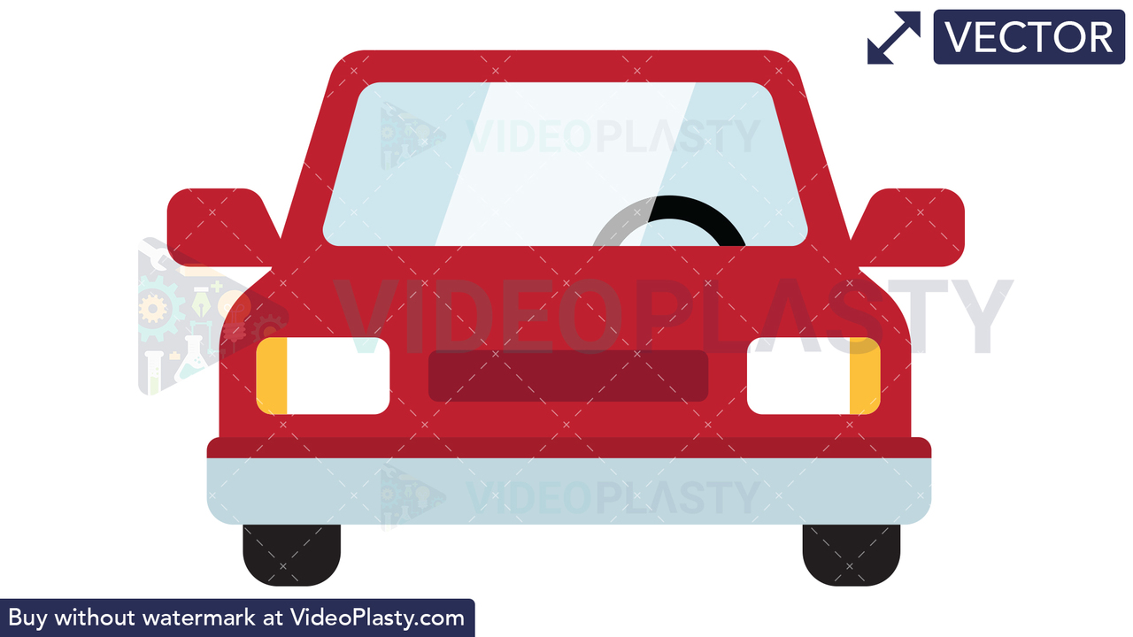 Car Icon Vector Clipart