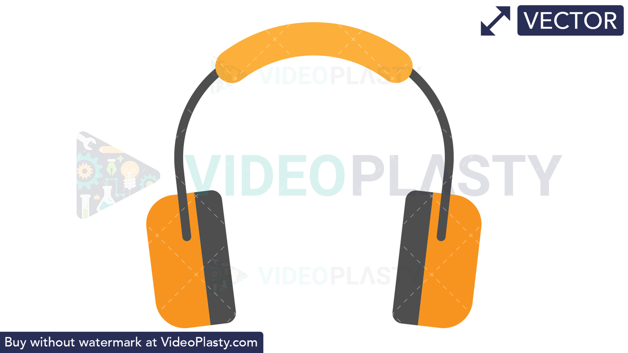 Ear Protection Icon Vector Clipart